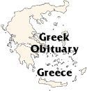 [Greek Obituary]
