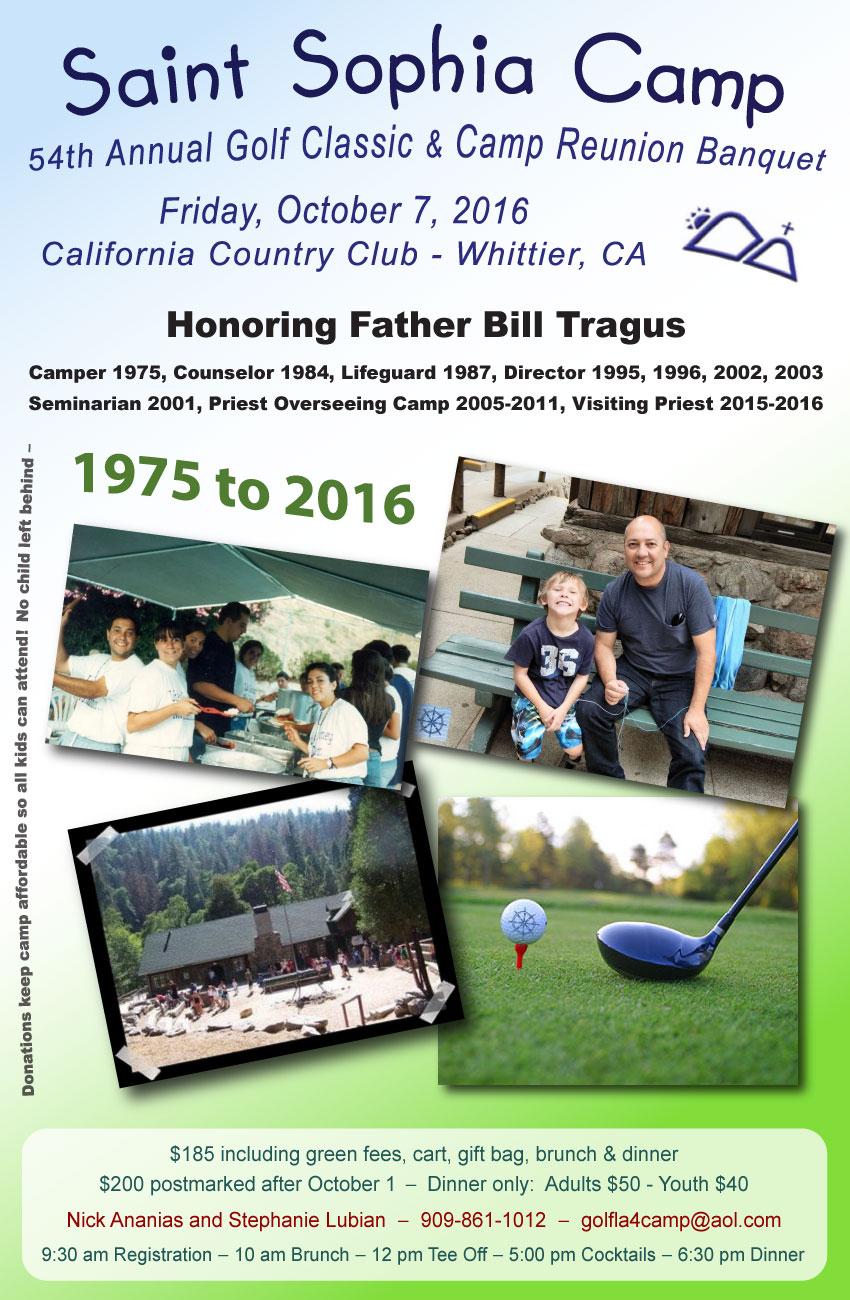 [Saint Sophia Camp Golf Tournament honoring Fr. Bill Tragus]