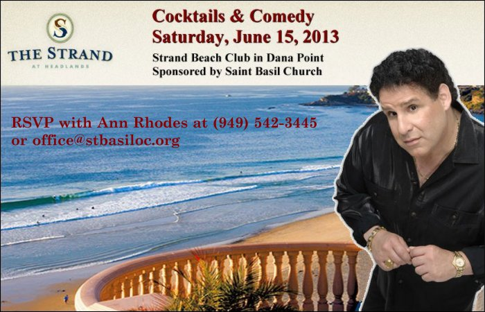 [Cocktails and Comedy in the OC]
