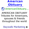 American Obituary tributes for Americans, spouses & friends throughout the world!