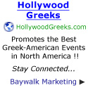 Hollywood Greeks promotes the best Greek American events!