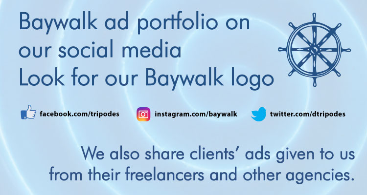 [Baywalk portfolio on social media]